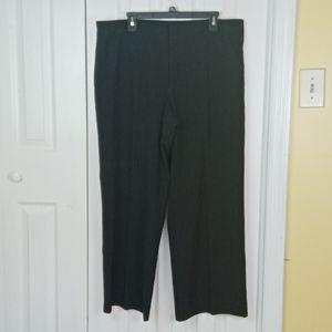 4/$25 Ashley Judd black pinstriped trousers